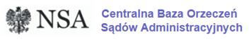 NSA - Centralna Baza Orzeczeń Sądów Administracyjnych